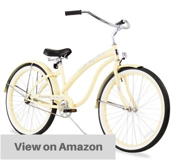 firmstrong-bella-classic-single-speed-beach-cruiser-bicycle-26-inch-vanilla