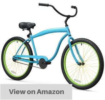 sixthreezero-mens-in-the-barrel-26-inch-beach-cruiser-bicycle
